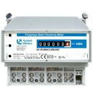 AMT B0x SA4T for DIN rail, for active energy measuring, with mechanical register, up to 65 A